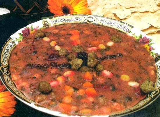 آش قلیه گیلانی