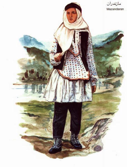 لباس محلی مازندران4