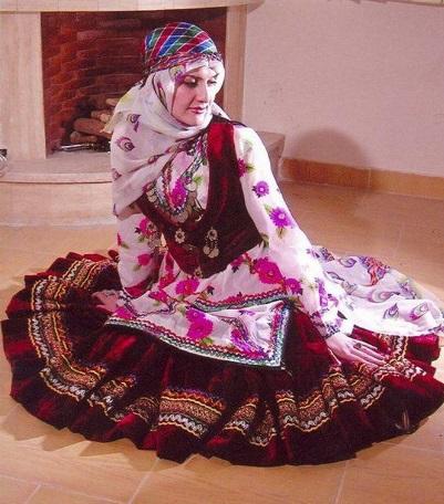 لباس محلی مازندران6