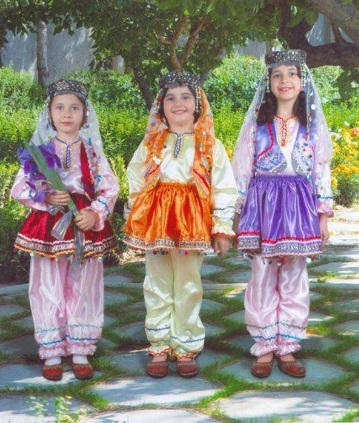 لباس محلی مازندران8