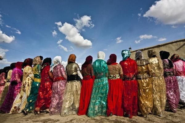 لباس محلی کردستان4