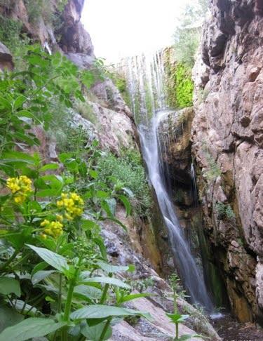 آبشار بنگان – بافت