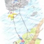 آموزش عبور از رودخانه وسیلاب