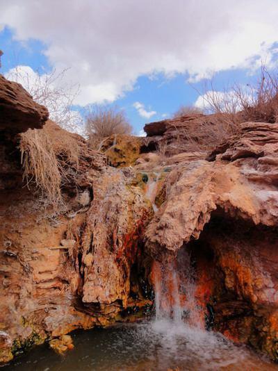آبشار رسوبی شواز کهنه2