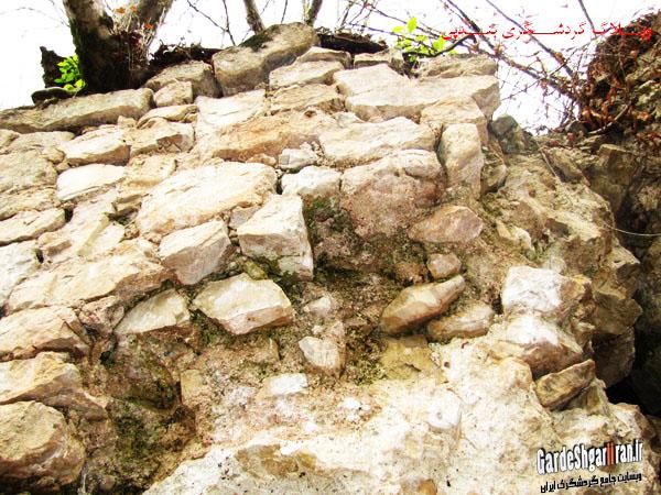 خرابه های قلعه فریدون2