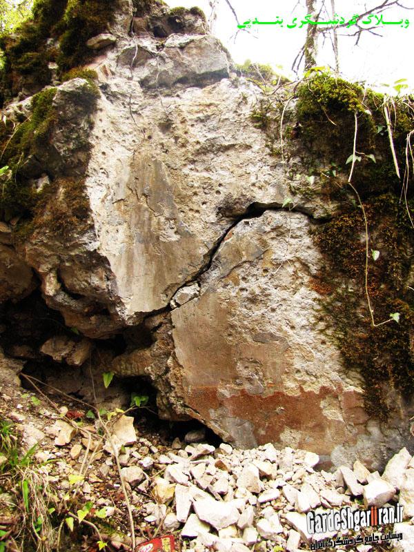 خرابه های قلعه فریدون6