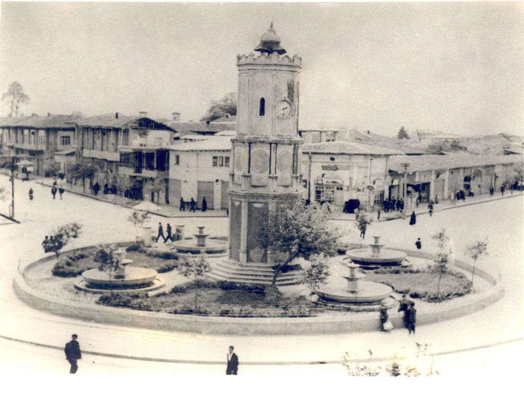 میدان ساعت ساری از گذشته تا حال