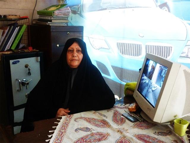 جمیله صادقی؛ بنیانگذار شرکت تاکسی سرویس زنان در ایران