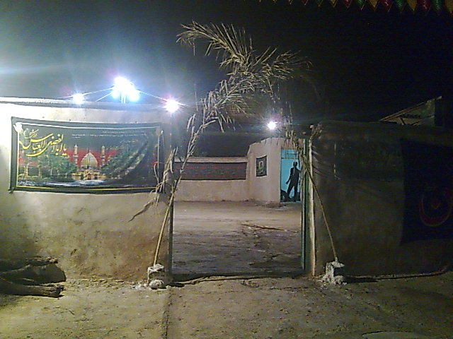 آیین عزاداری ماه محرم در روستای منصورآباد باشت1