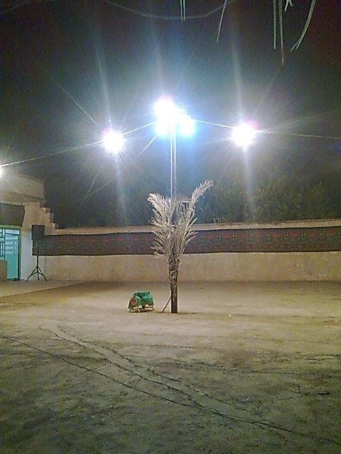 آیین عزاداری ماه محرم در روستای منصورآباد باشت2