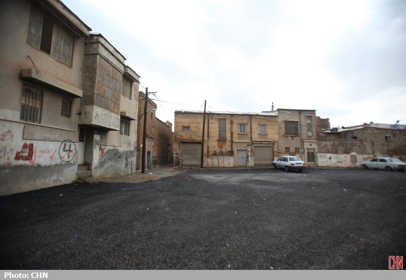 تخریب محله اسکندری شیراز
