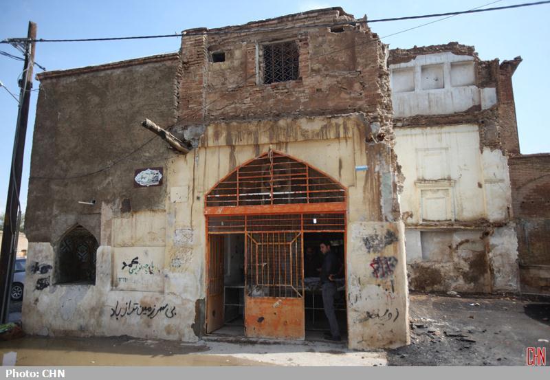 تخریب محله اسکندری شیراز13