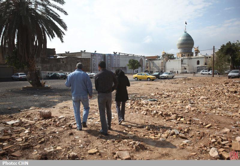 تخریب محله اسکندری شیراز15