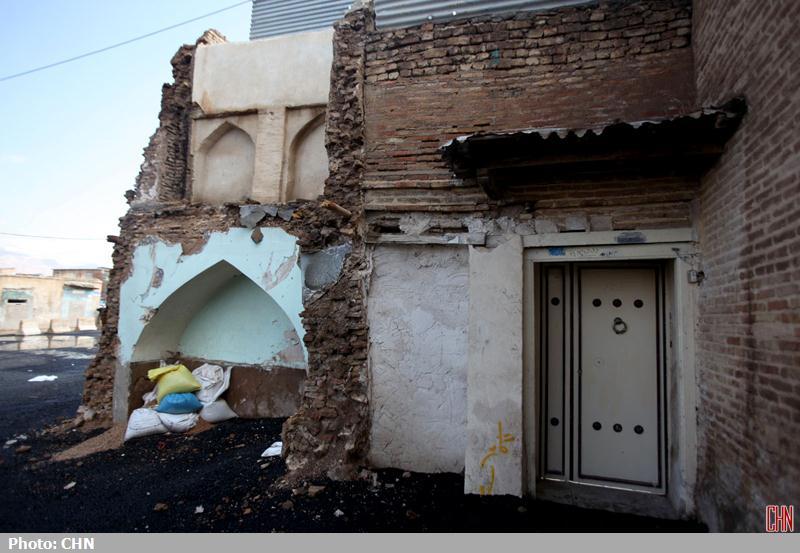 تخریب محله اسکندری شیراز2