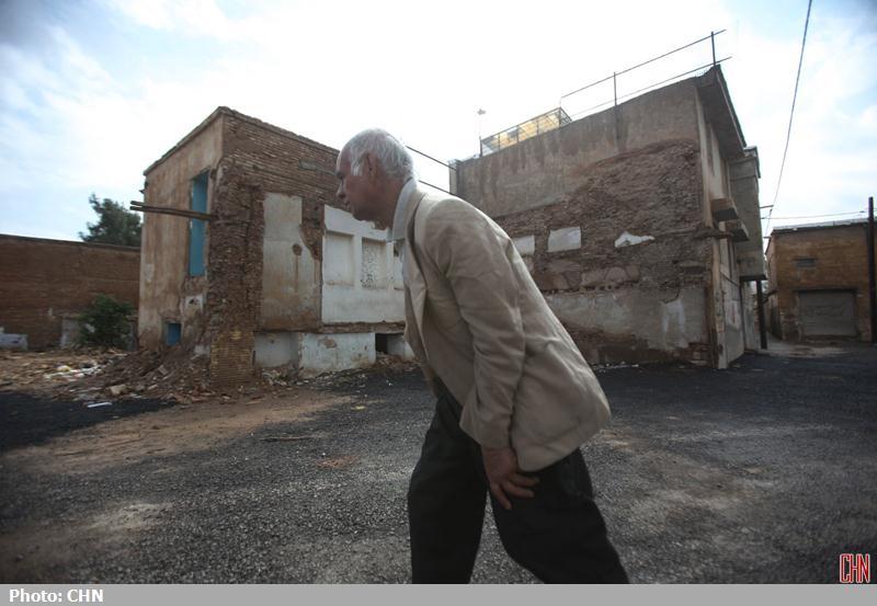تخریب محله اسکندری شیراز9