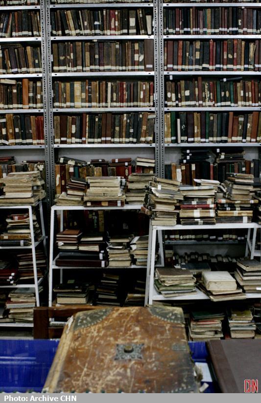 کتابخانه آیتالله مرعشی نجفی9