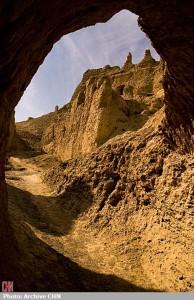 کوه خواجه، تخت جمشید خشت و گل/عکس