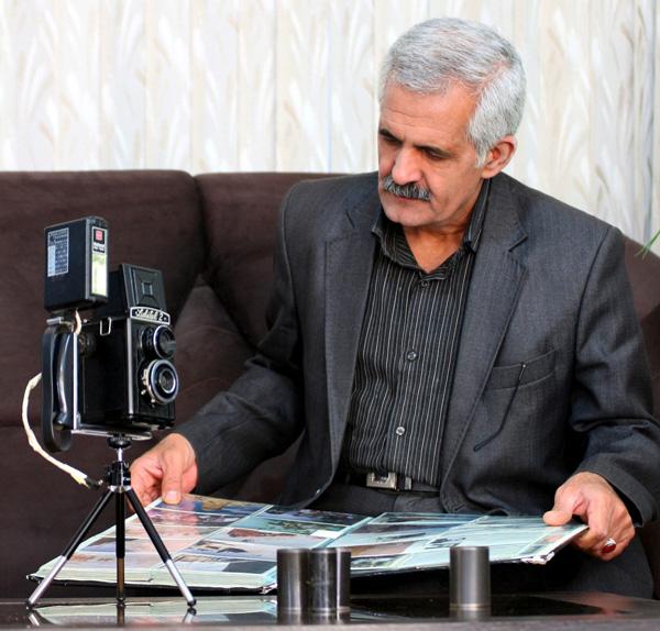 علیرضا امیدی عکاس روزهای انقلاب در ابرکوه