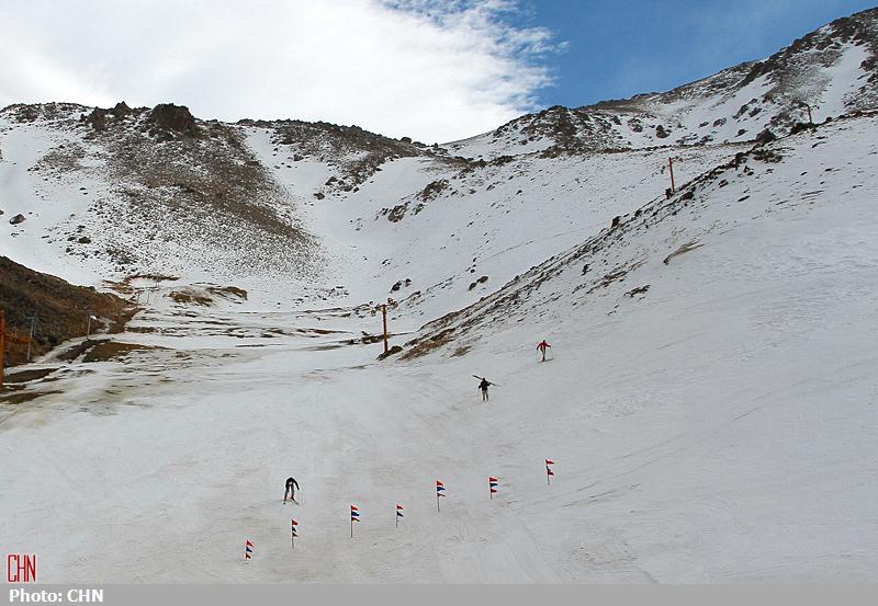 پیست اسکی تاریک دره11