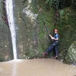آبشار آلامن (اوترنه)، علی آباد