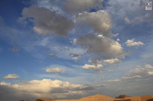 آسمان ابرکوه