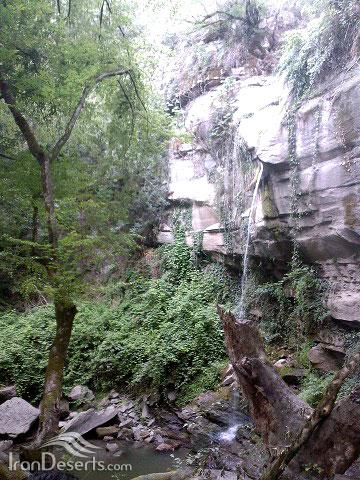 آبشار لولوم ، مینودشت