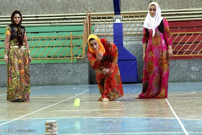 عکس/بازی های بومی زنان کردستان