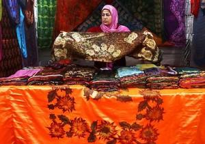 عکس از نمایشگاه صنایع دستی در تهران