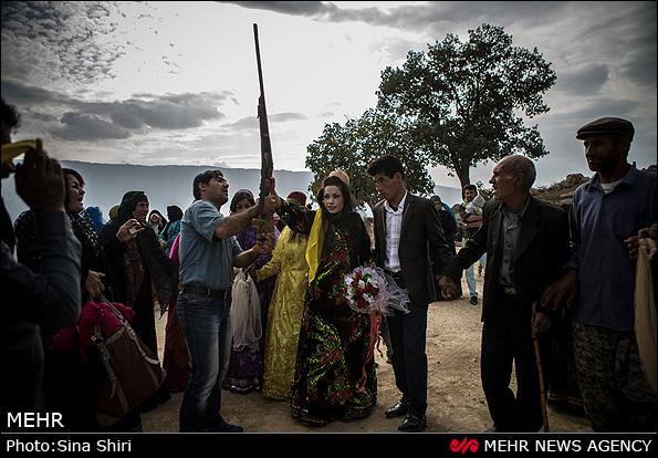 عکس/عروسی سنتی