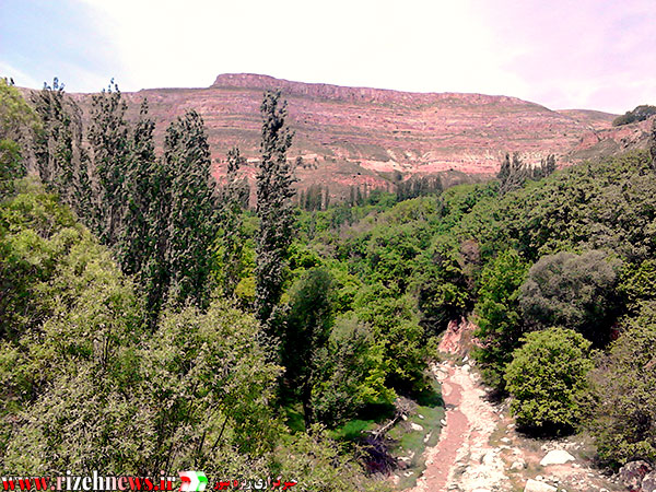 رودخانه آرام روستای ریزه فاروج1