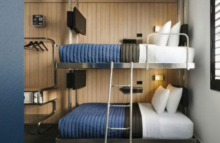 آشنایی با انواع تخت در هتل ها 11