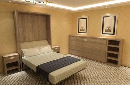 آشنایی با انواع تخت در هتل ها 2