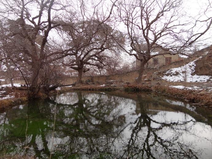 استخر زیبای روستای اصقول سربیشه خراسان جنوبی