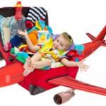 پیشنهادی برای سفر هوایی با کودک
