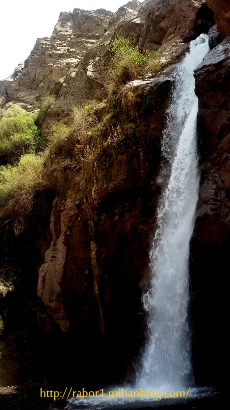 آبشار زیبای آبسر