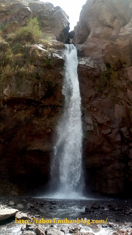 آبشار زیبای آبسر1