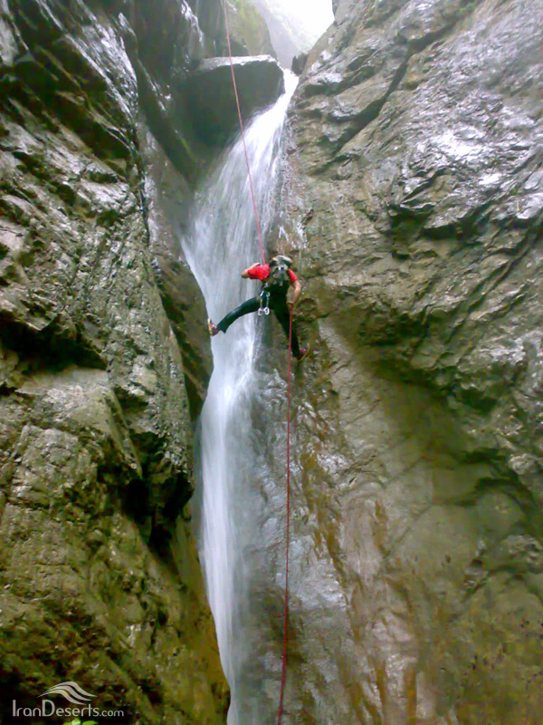 آبشارهای دره تل انبار