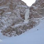 آبشار یخی نوا آمل