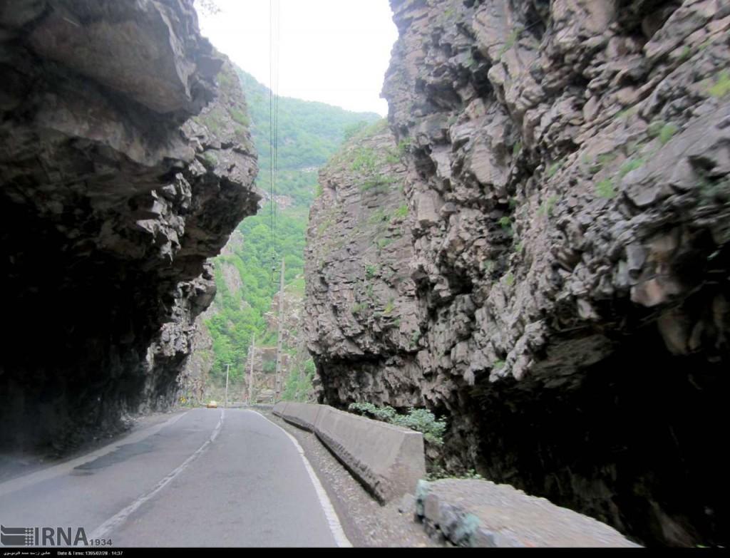 جاده چالوس 4