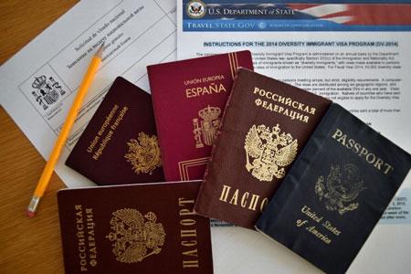چگونگی رنگ جلد پاسپورت ها 2