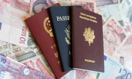 چگونگی رنگ جلد پاسپورت ها 3