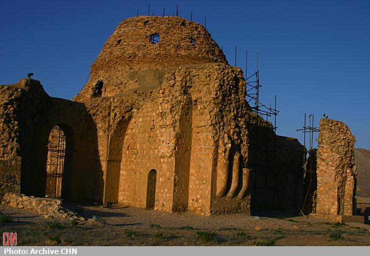 کاخ ساسانی سروستان2