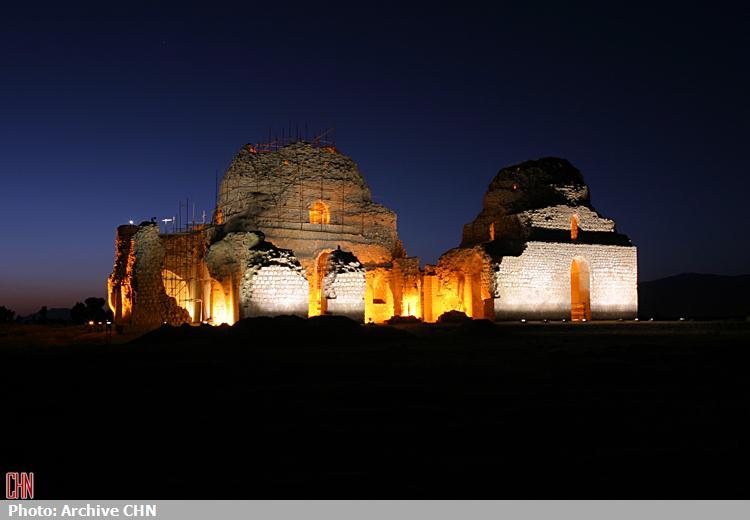 کاخ ساسانی سروستان8